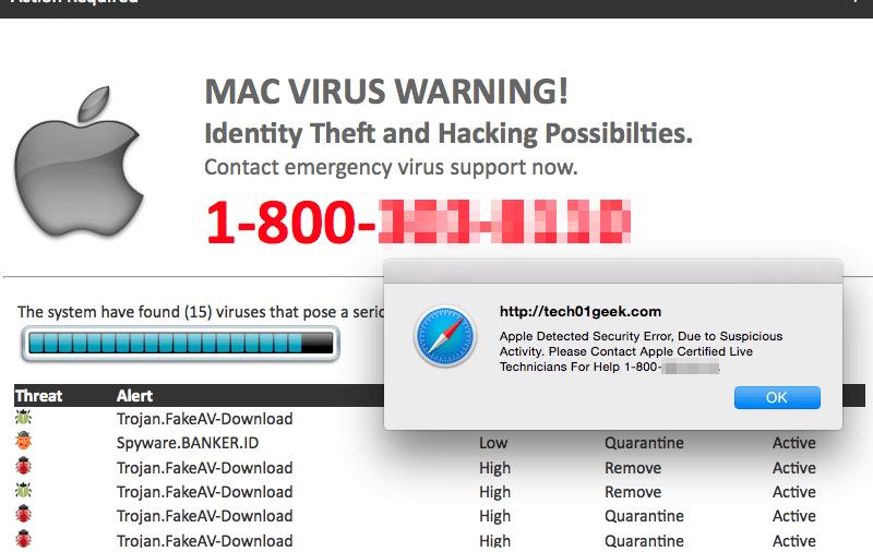 Mac Virus Technical Support