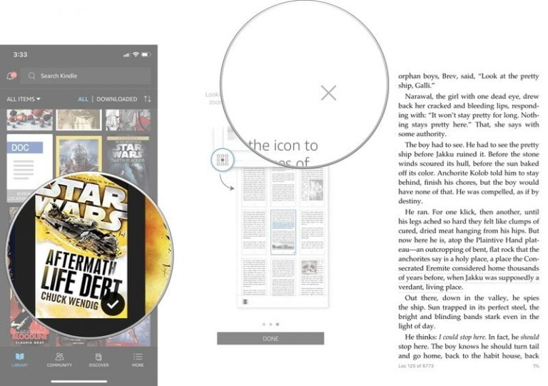 1 million books on your iPhone or iPad with Kindle Unlimited