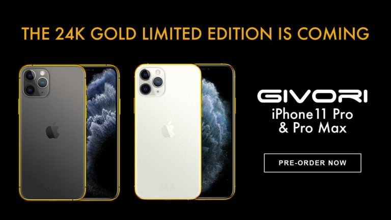 11 Gold-plated Pro Max