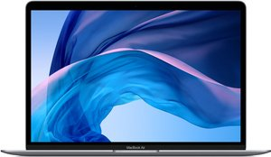12-inch MacBook Air in gold, silver, and space gray