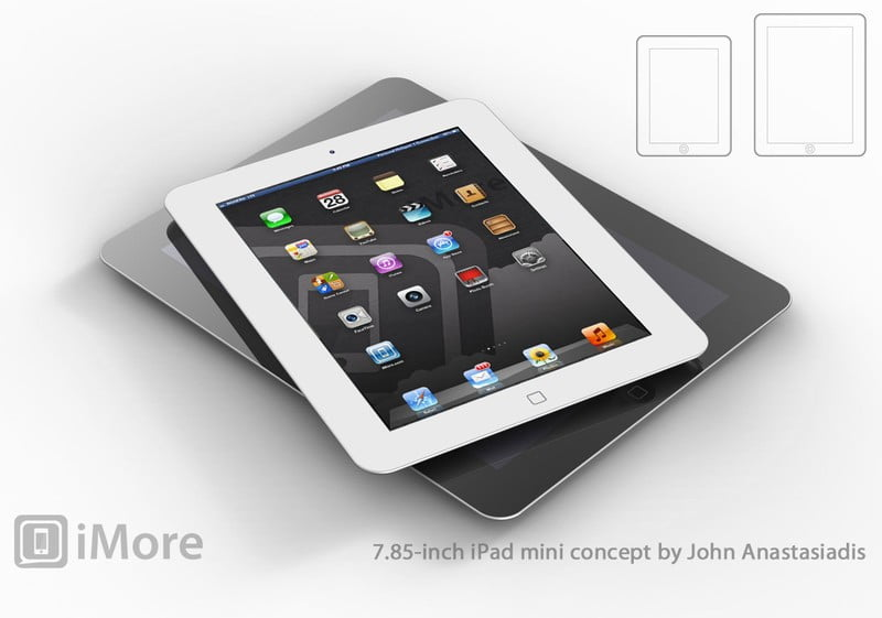 A 7-inch iPad could be on the market by fall