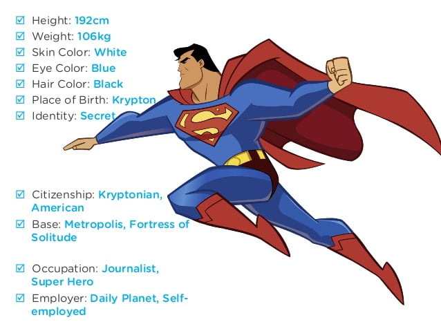 a data manager in Kryptonian