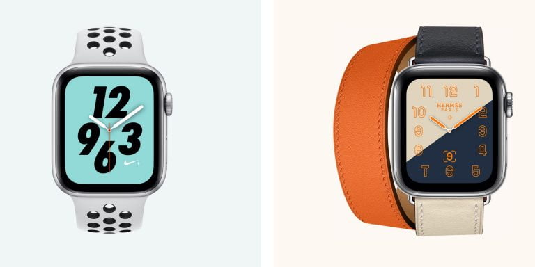 Activation of eSIM for Apple Watch Series 3 and 4 is standard
