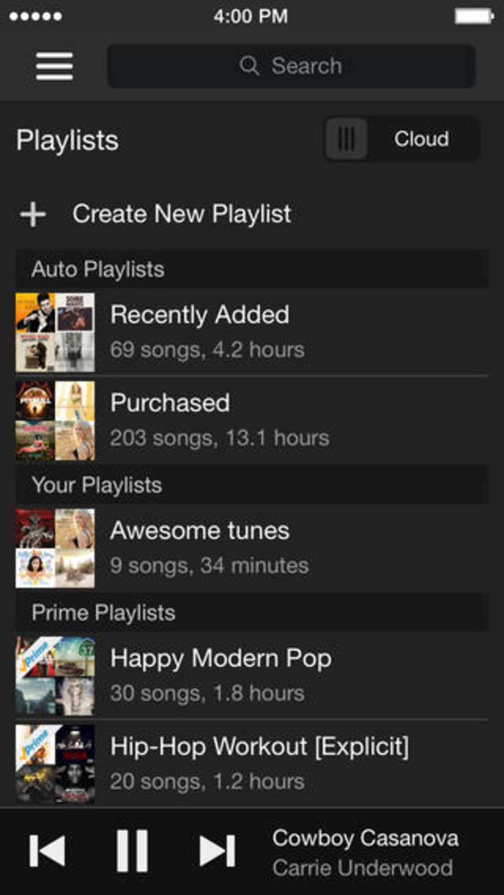 Amazon faces up to the iTunes Store by optimizing the Amazon MP3 store for the iPhone
