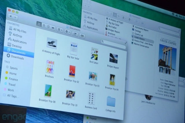 Apple announces OS X 10.9 and brings interesting news