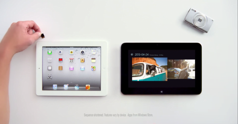 Apple continues to promote the use of the iPad with new ads