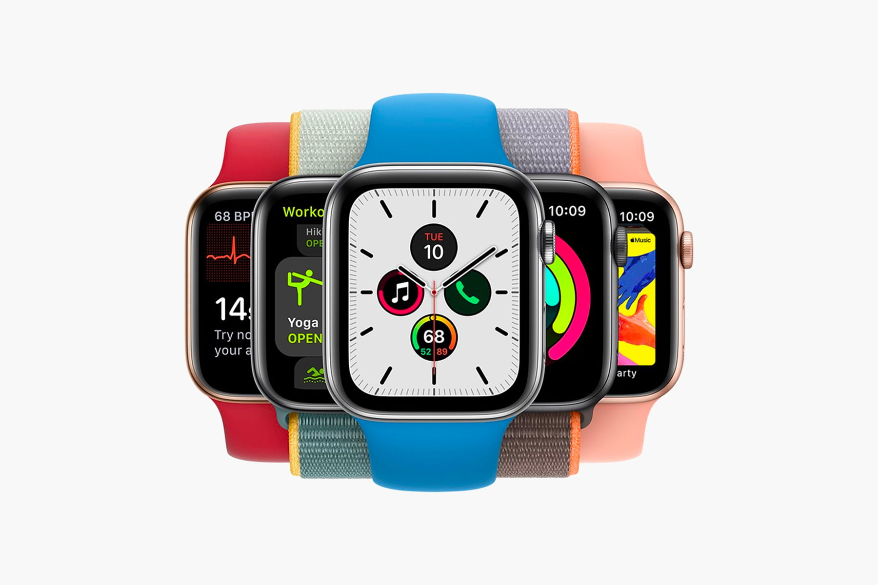 Apple debuts colorful accessories for the Apple Watch and iPhone X