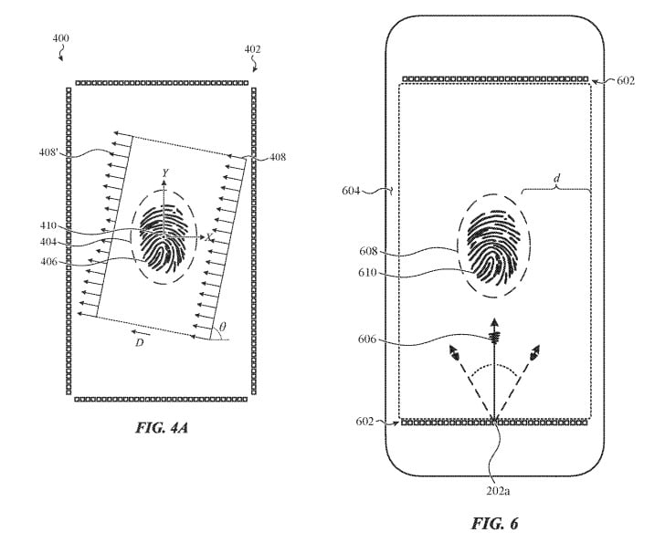 Apple files a patent that allows the Touch ID to be displayed under the iPhone's screen