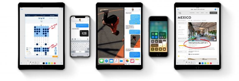 Apple Launches Fifth Beta of iOS 11 and High Sierra MacOS for Developers