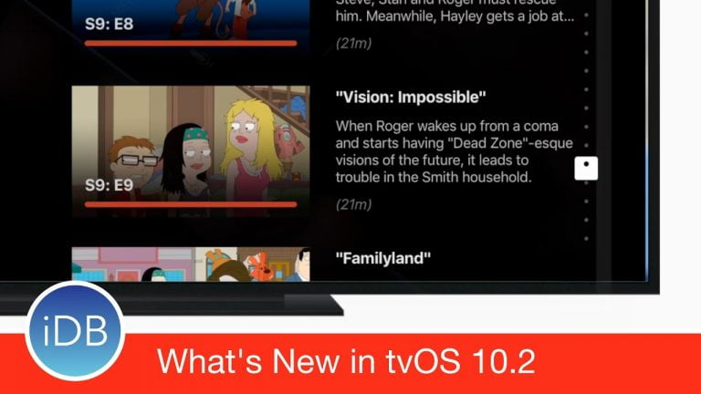 Apple launches the fifth beta of tvOS 10.2.2
