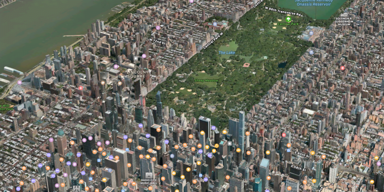 Apple Maps has 20 new cities with Flyover view