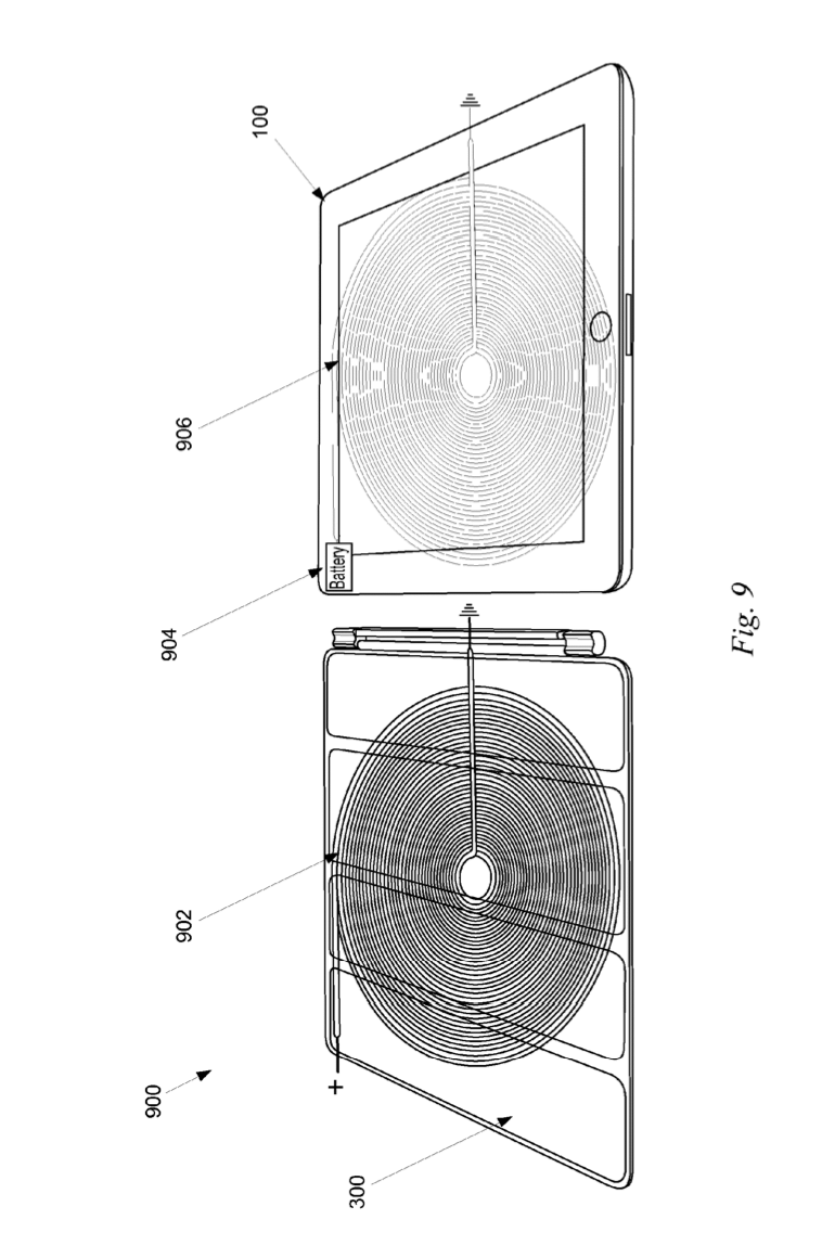 Apple patents a wireless charging system based on Smart Cover