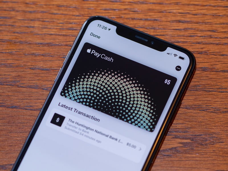 Apple Pay Cash would require you to verify your identity using Face ID