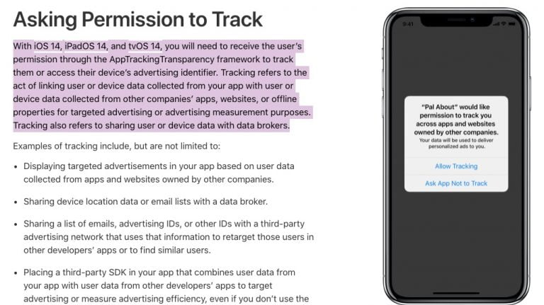 Apple promises us that their iPhones don't spy on us