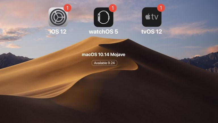 Apple releases ninth iOS 12 beta and eighth 10.14 macOS, watchOS 5 and tvOS 12