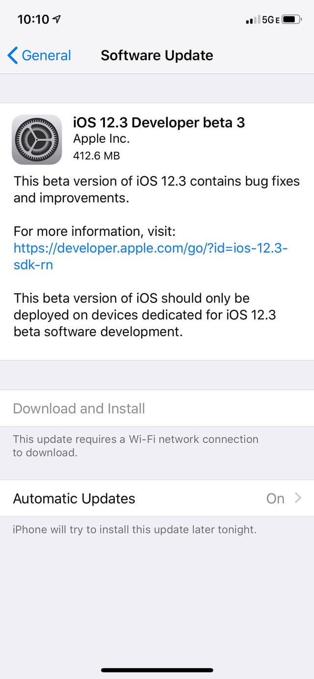 Apple stops signing all iOS 12.3 versions