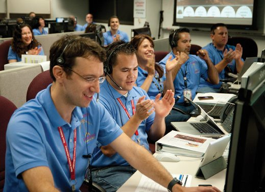 Apple, the big player in NASA's Curiosity mission control room