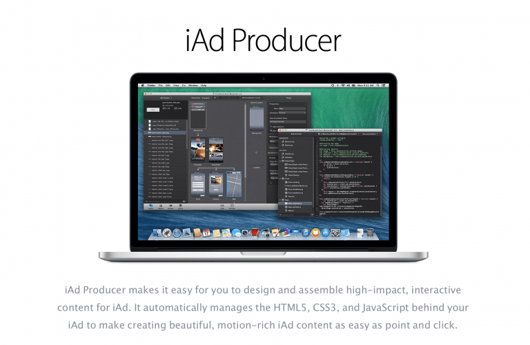 Apple updates iAd Producer and the Apple Store application