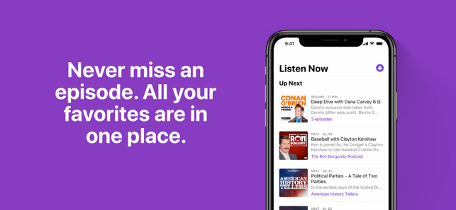Apple updates Podcasts with news and fixes