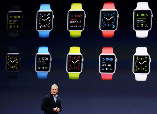 Apple Watch on March 9