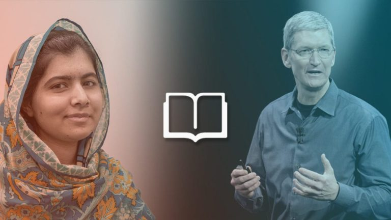 Apple will support women's right to education by working with the Malala Foundation