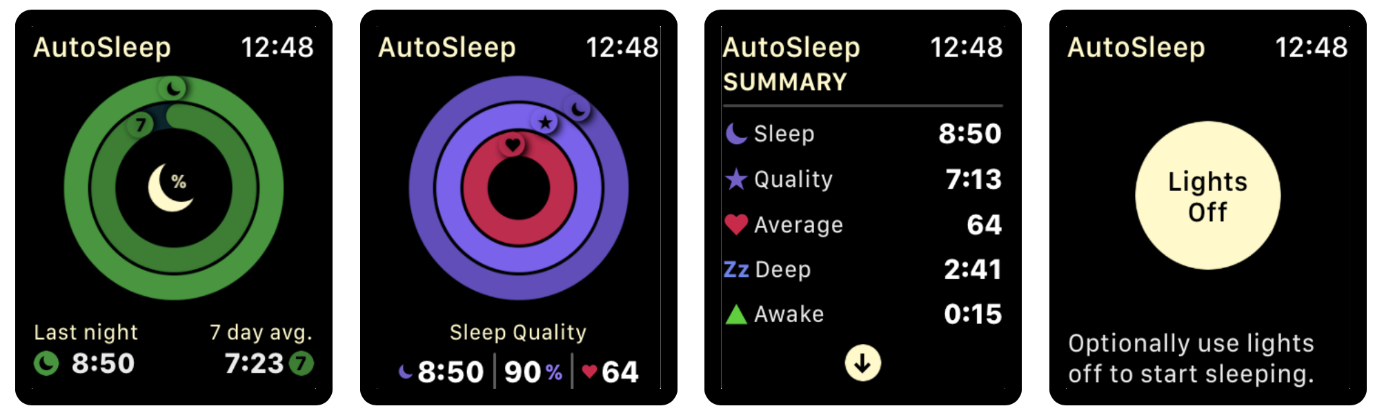 AutoSleep, the best app for monitoring sleep with the Apple Watch