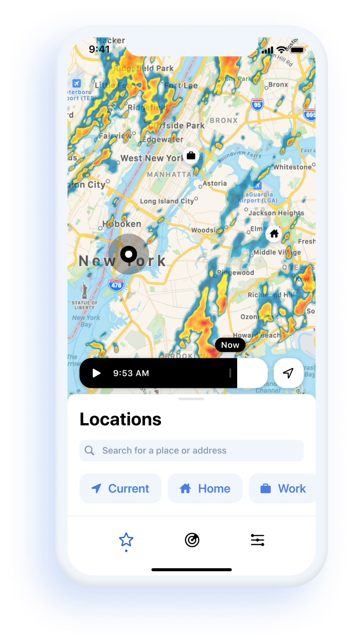 Best applications for checking the weather on iPhone