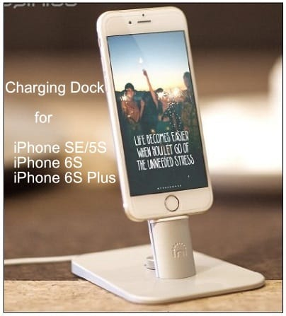 Buy iPhone charging dock at a discount