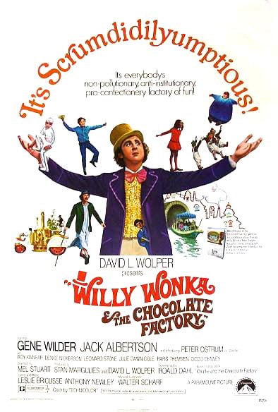 Can you imagine Steve Jobs dressed as Willy Wonka?