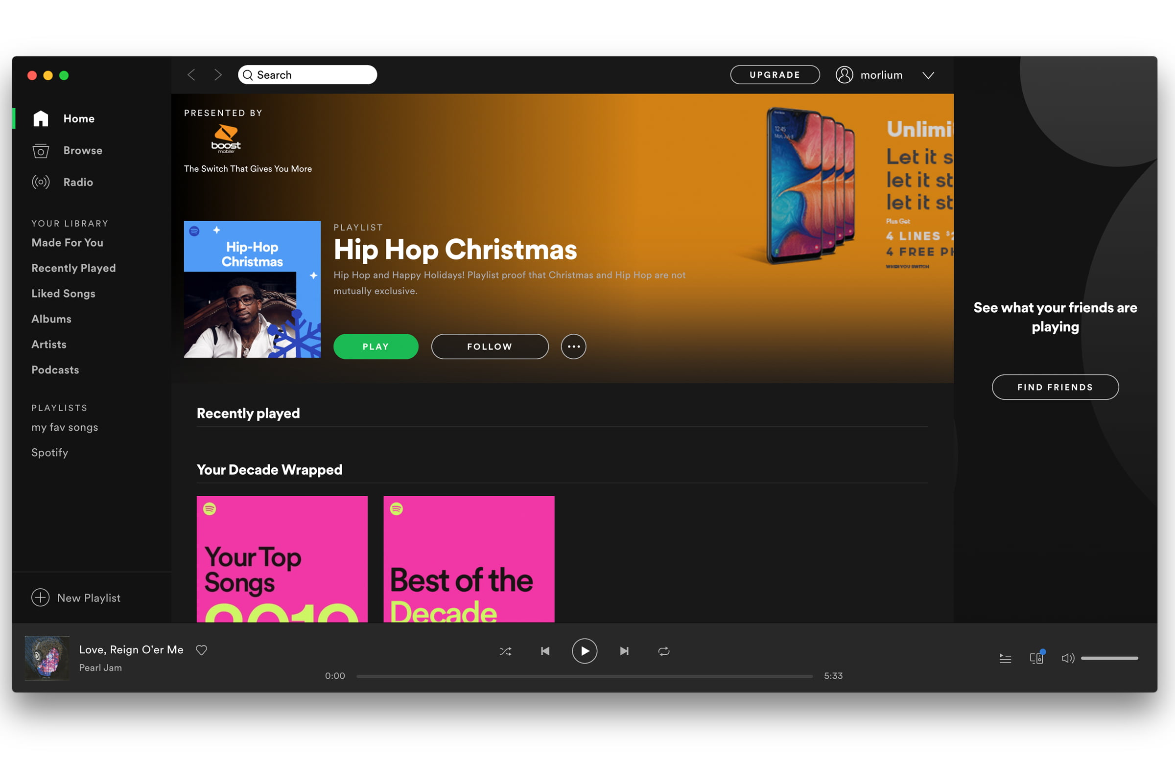 Control Spotify from the OS X Notification Center