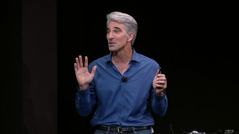 Craig Federighi says Face ID is the future of biometrics technology