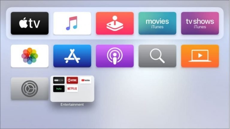 Deleting and Moving Apps on Apple TV