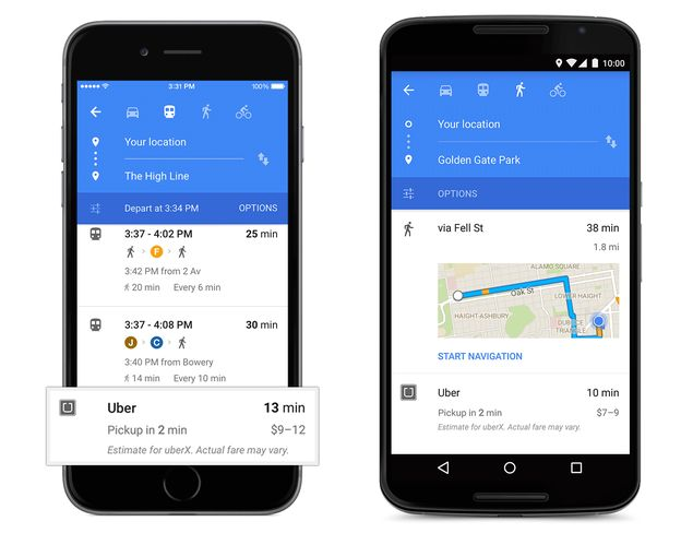 Design material for the official Google iOS app