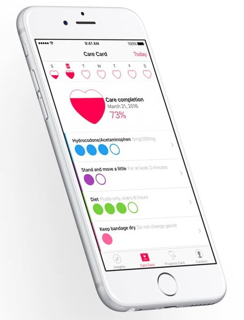 developers will have access to CareKit