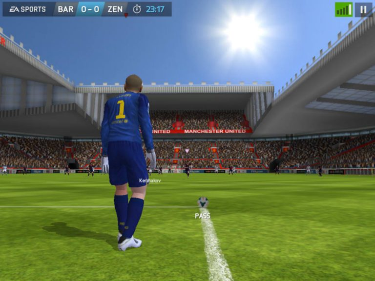 Download FIFA 14 for free from the App Store