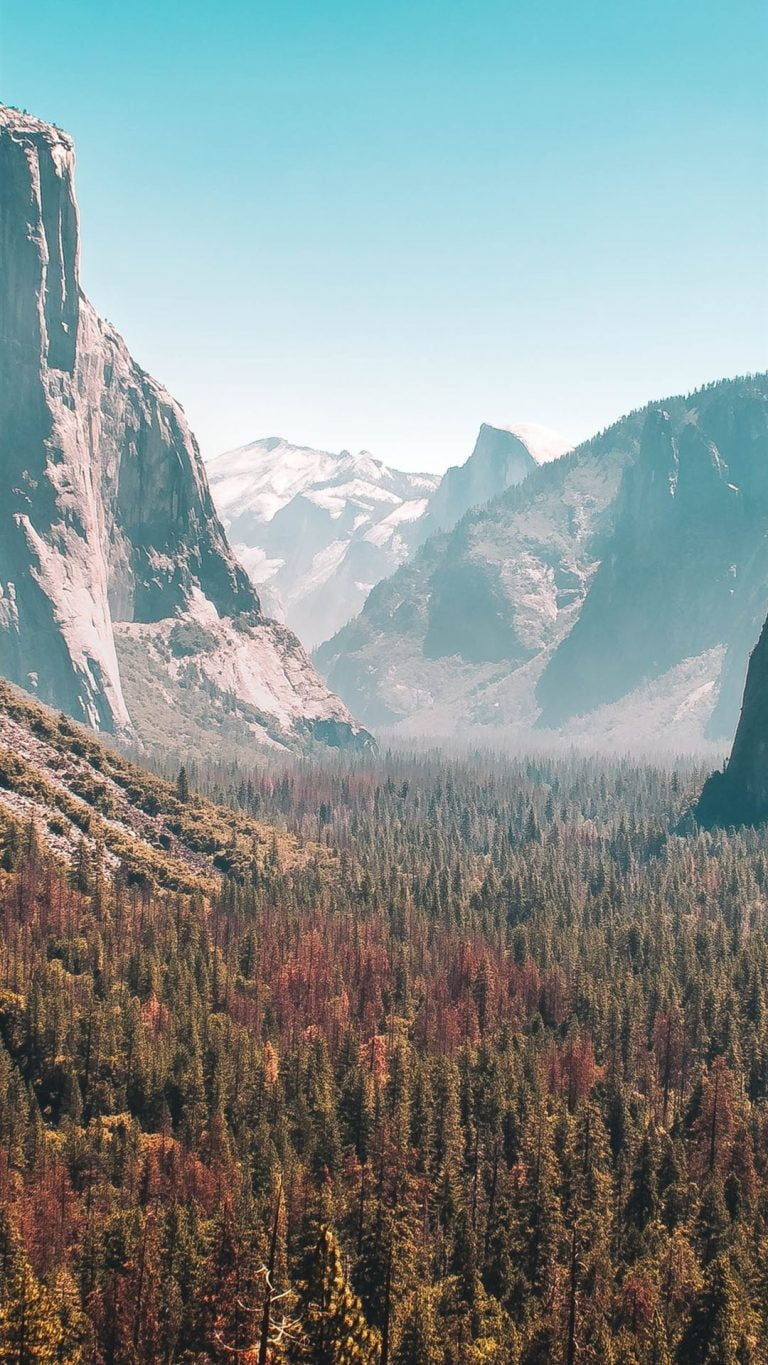 Download these beautiful Yosemite Park wallpapers for your iPhone and iPad