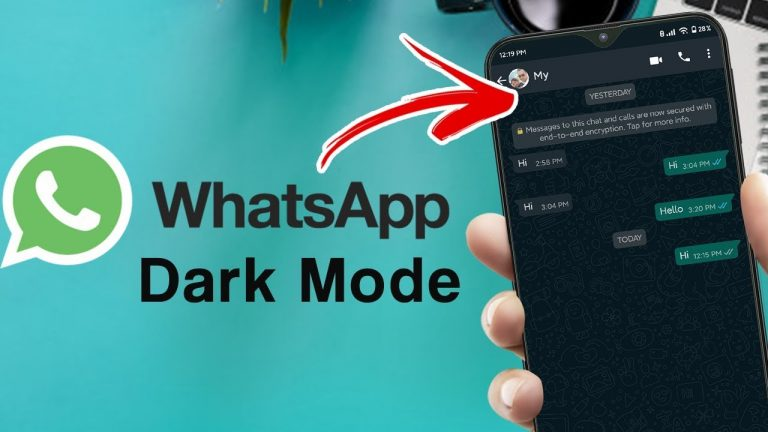 Enabling Dark Mode on WhatsApp for iPhone