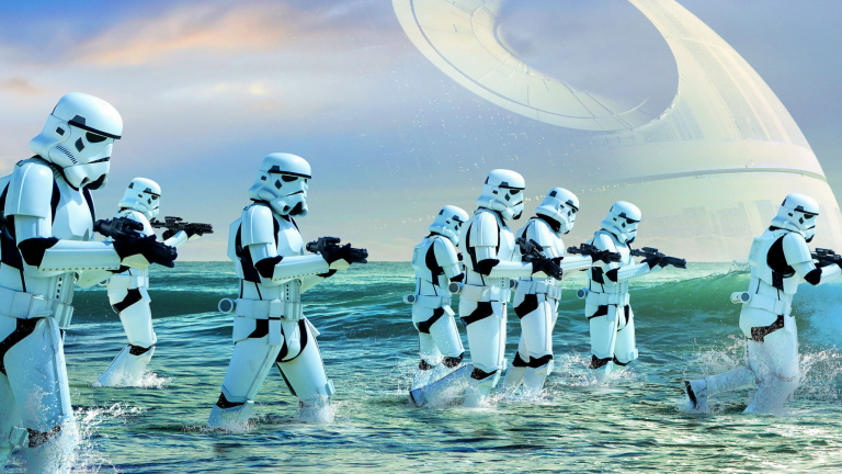 Enjoy Star Wars: Rogue One wallpapers for iPhone and Mac