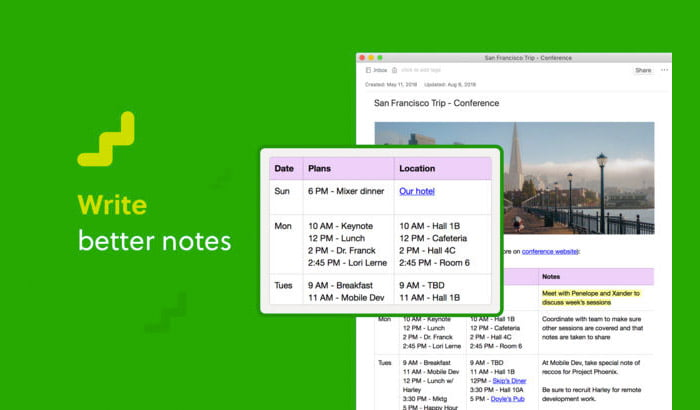 Evernote's new natural language search for the Mac