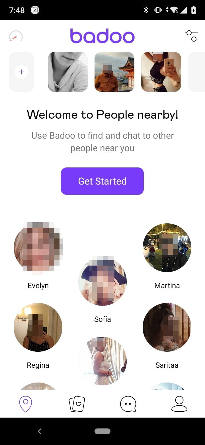 Find love, or whatever it is, in Badoo