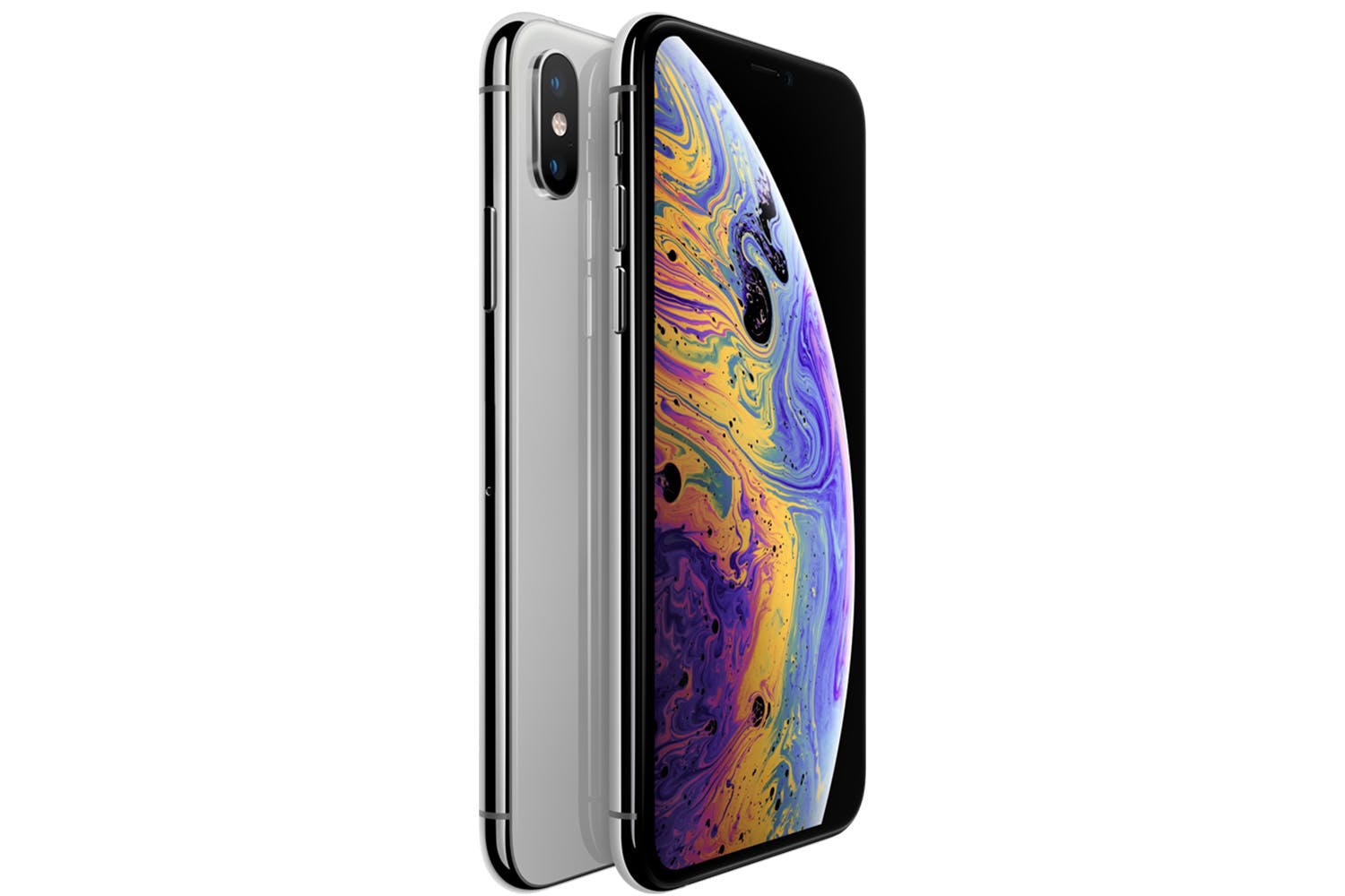 First images of the iPhone XS Max with dual SIM in operation