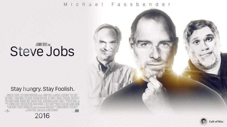 First photos of Seth Rogen and Michael Fassbender in Jobs