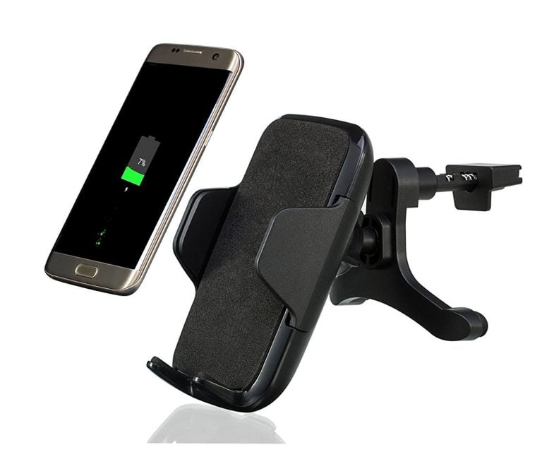 Flexible holder for your iPhone's charger