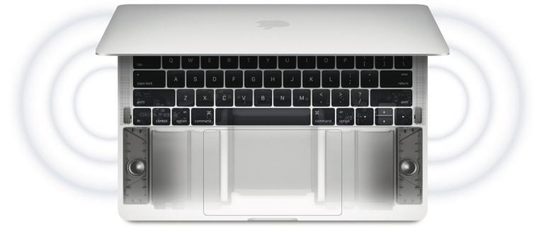 For less than $1, you can make the MacBook screen touchable