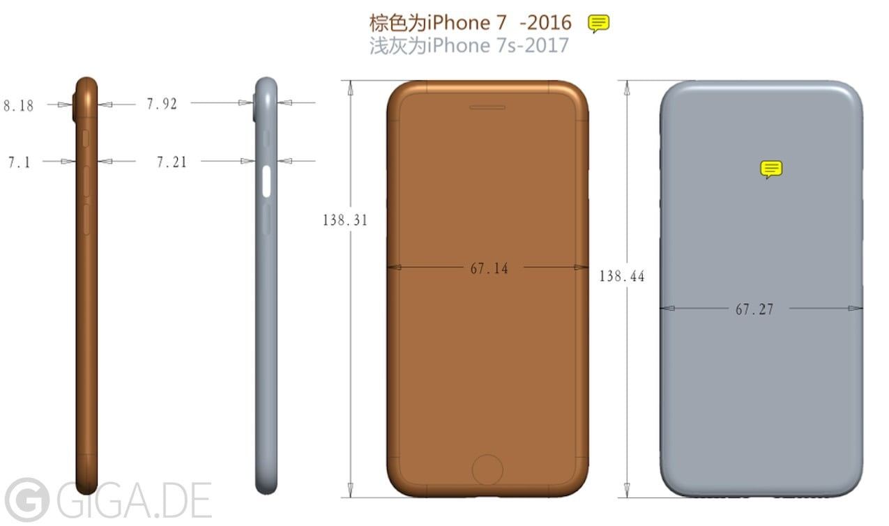 Foxconn may be producing the LCD panels for the iPhone 7S and 7S Plus