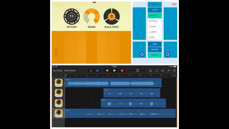 GarageBand is updated with Audiobus support