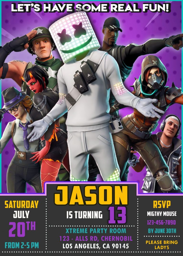 Get one of the several invitations to Fortnite that we give away