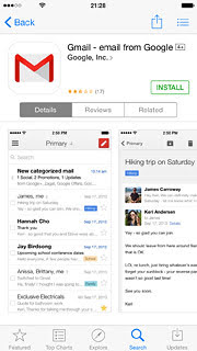Gmail is back in the App Store