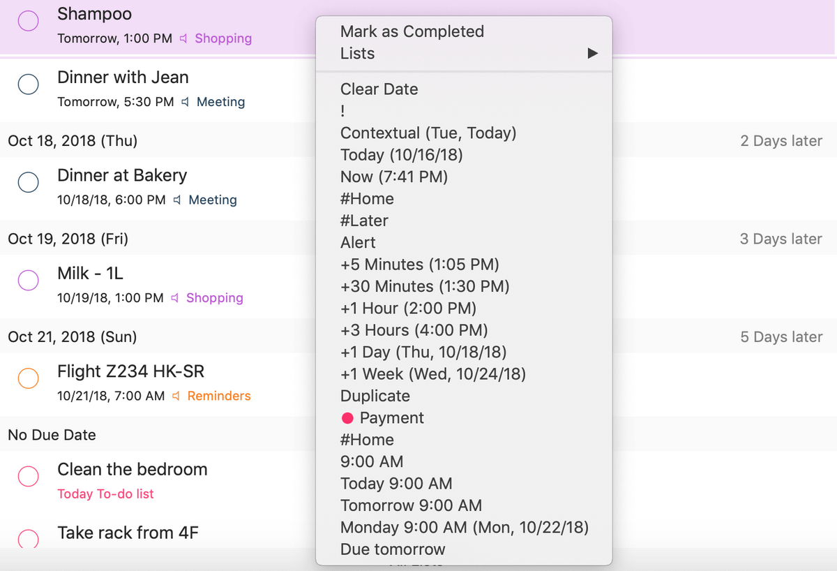 GoodTask is now compatible with Mac