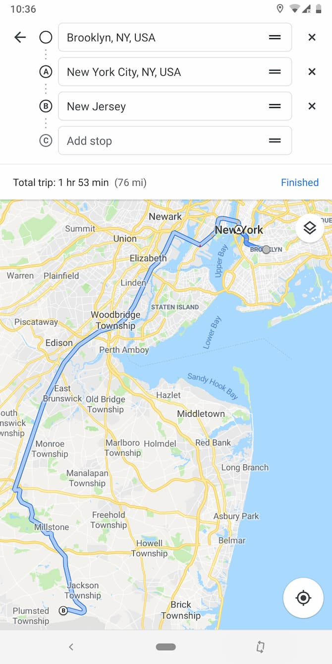Google Maps adds a Timeline to your application
